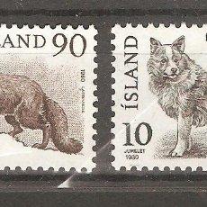 Sellos: ISLANDIA,1980,CAT.YT.503/504.. Lote 113503439