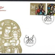Sellos: [CF9125] ISLANDIA 2009, FDC NAVIDAD (NS). Lote 114099735