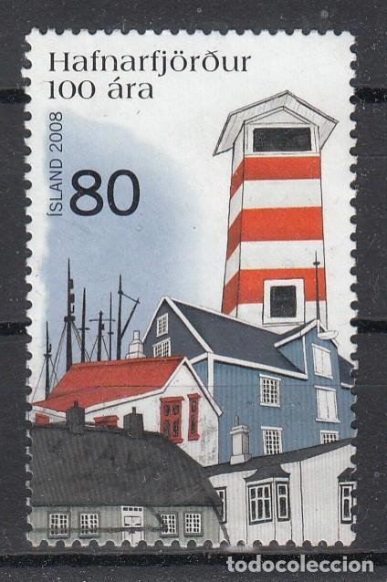 ISLANDIA 2008 - 100 ANIVERSARIO DE HAFNARFJOROUR - USADO (Sellos - Extranjero - Europa - Islandia)