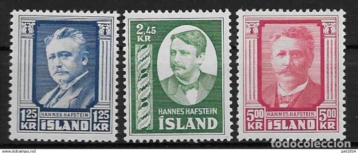SELLOS USADOS DE ISLANDIA, YT 251/ 53 (Sellos - Extranjero - Europa - Islandia)