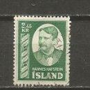 Sellos: ISLANDIA SELLO YVERT NUM. 252 USADO. Lote 123320207