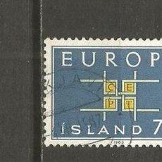 Selos: ISLANDIA SELLO YVERT NUM. 329 USADO. Lote 123323047