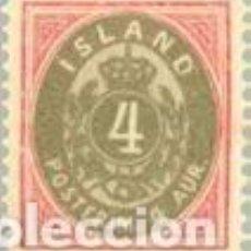 Sellos: SELLO USADO DE ISLANDIA, YT 21. Lote 128500111