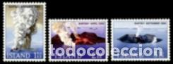 SELLOS NUEVOS CON LIGERAS MARCAS DE CHARNELA DE ISLANDIA, YT 347/ 49 (Sellos - Extranjero - Europa - Islandia)