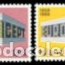 Sellos: SELLOS NUEVOS DE ISLANDIA, LIGERAS MARCAS DE CHARNELA, YT 383/ 84. Lote 132007874