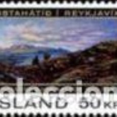 Sellos: SELLO NUEVO DE ISLANDIA, LIGERA MARCA DE CHARNELA, YT 399. Lote 132009422