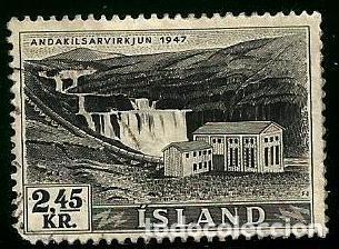 ISLANDIA 1956 YVERT 266 (Sellos - Extranjero - Europa - Islandia)