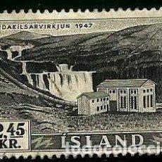 Sellos: ISLANDIA 1956 YVERT 266. Lote 132301002