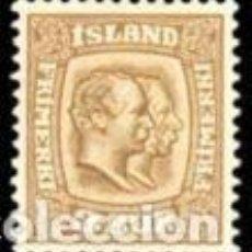 Sellos: SELLO NUEVO CON CHARNELA, ISLANDIA YT 48. Lote 133954934