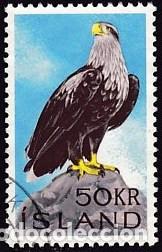SELLO NUEVO CON LIGERA MARCA DE CHARNELA DE ISLANDIA, YT 353 (Sellos - Extranjero - Europa - Islandia)