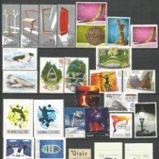 Sellos: ISLANDIA AÑO 2010 CONJUNTO DE SERIES COMPLETAS ** NUEVAS SIN FIJASELLOS VALOR CAT. 75,50 EUROS. Lote 143263230