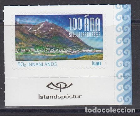 ISLANDIA 2018 SIGLUFJORDUR 100 ANIVERSARIO - (Sellos - Extranjero - Europa - Islandia)