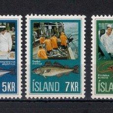 Sellos: ISLANDIA ** INDUSTRIA CONSERVERA - 2/23. Lote 144728658