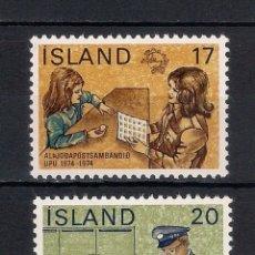 Sellos: ISLANDIA 1974 ** HISTORIA POSTAL - 2/23. Lote 144728726