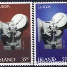 Sellos: ISLANDIA 1995 YVERT YT 777/778 MNH** NUEVOS SERIE COMPLETA - EUROPA C.E.P.T. CEPT. Lote 144841474