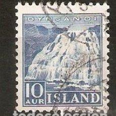 Sellos: ISLANDIA. 1935. YT 158. Lote 148436766