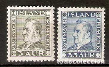 ISLANDIA. 1935. YT 160,163 (Sellos - Extranjero - Europa - Islandia)
