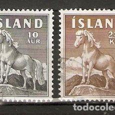 Sellos: ISLANDIA. 1958. YT 283,285. Lote 148438414