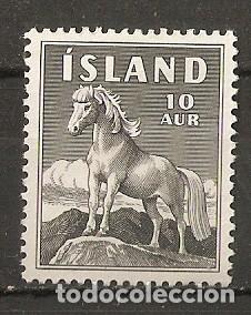 ISLANDIA. 1958. YT 283. CABALLO (Sellos - Extranjero - Europa - Islandia)