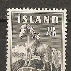 Sellos: ISLANDIA. 1958. YT 283. CABALLO. Lote 148438838