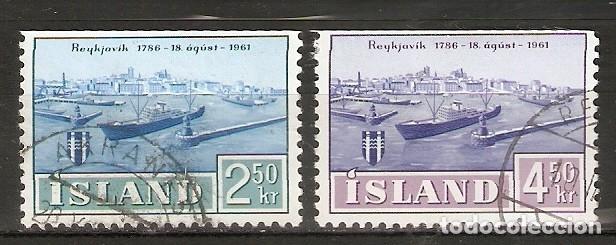 ISLANDIA. 1961. YT 309,310 (Sellos - Extranjero - Europa - Islandia)