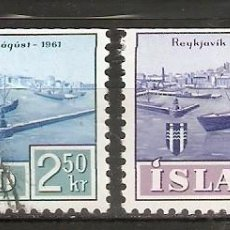 Sellos: ISLANDIA. 1961. YT 309,310. Lote 148439934