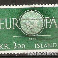 Sellos: ISLANDIA. 1960. YT 301. Lote 148440554
