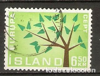 ISLANDIA. 1962. YT 320 (Sellos - Extranjero - Europa - Islandia)