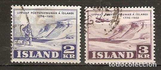 ISLANDIA. 1951. YT 236,237 (Sellos - Extranjero - Europa - Islandia)