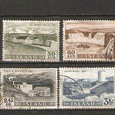 Sellos: ISLANDIA. 1956. YT 261/268. Lote 148444746