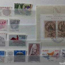 Sellos: SELLOS DE ISLANDIA DE 1982 USADOS. Lote 149765744