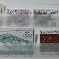 Sellos: SELLOS DE ISLANDIA DE 1980 USADOS. Lote 149766152