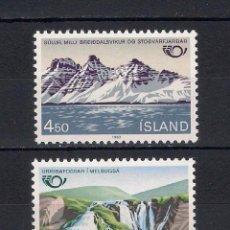 Sellos: ISLANDIA 1983 ** NUEVO NATURALEZA - 2./34. Lote 152622190