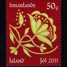 Sellos: ISLANDIA 2011 - SELLO MATASELLADO. Lote 154173390
