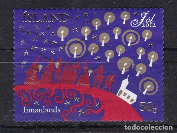ISLANDIA 2012 - SELLO MATASELLADO (Sellos - Extranjero - Europa - Islandia)