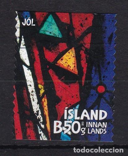 ISLANDIA 2013 - SELLO MATASELLADO (Sellos - Extranjero - Europa - Islandia)