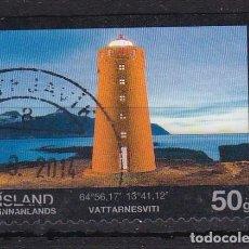 Sellos: ISLANDIA 2013 - SELLO MATASELLADO. Lote 154309250
