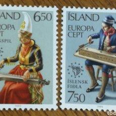 Sellos: ISLANDIA :EUROPA 1985 MNH. Lote 156650261