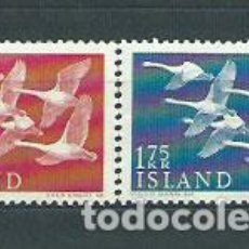 Sellos: ISLANDIA - CORREO 1956 YVERT 270/1 * MH. Lote 159540708