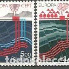 Sellos: ISLANDIA - CORREO 1983 YVERT 551/2 ** MNH EUROPA. Lote 159541896