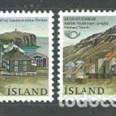 Sellos: ISLANDIA - CORREO 1986 YVERT 603/4 ** MNH. Lote 159542004