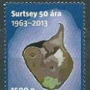 Sellos: ISLANDIA CORREO 2013 YVERT 1329 ** MNH ISLA. Lote 159544809