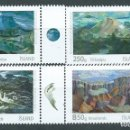 Sellos: ISLANDIA CORREO 2013 YVERT 1334/37 ** MNH ARTE. Lote 159544825