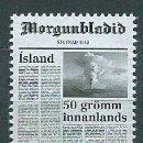 Sellos: ISLANDIA CORREO 2013 YVERT 1333 ** MNH. Lote 159544833