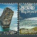 Sellos: ISLANDIA CORREO 2014 YVERT 1344/45 ** MNH TURISMO. Lote 159544889
