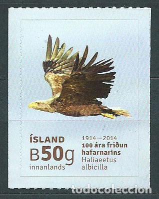 ISLANDIA CORREO 2014 YVERT 1343 ** MNH FAUNA. AVES (Sellos - Extranjero - Europa - Islandia)