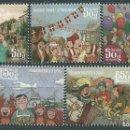Sellos: ISLANDIA CORREO 2014 YVERT 1353/57 ** MNH. Lote 159544913