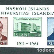 Briefmarken - Islandia - Hojas Yvert 3 ** Mnh - 159545117
