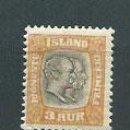Sellos: ISLANDIA - SERVICIO YVERT 24 * MH. Lote 159545446