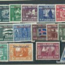 Sellos: ISLANDIA - SERVICIO YVERT 44/58A * MH. Lote 159545466